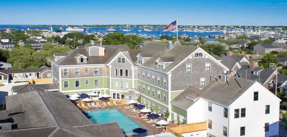 The Nantucket Hotel & Resort is a popular vacation spot.