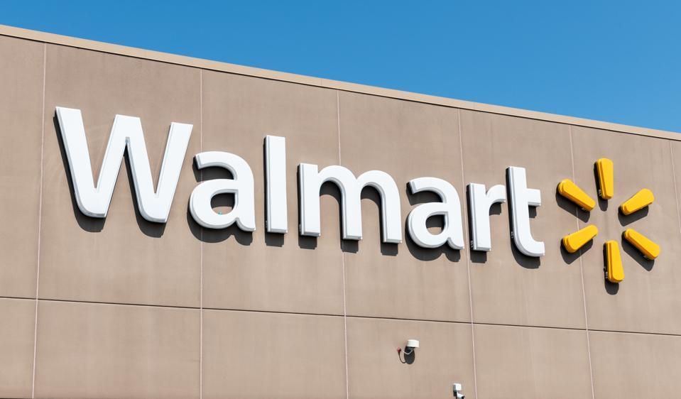 Walmart store in Teterboro, New Jersey...