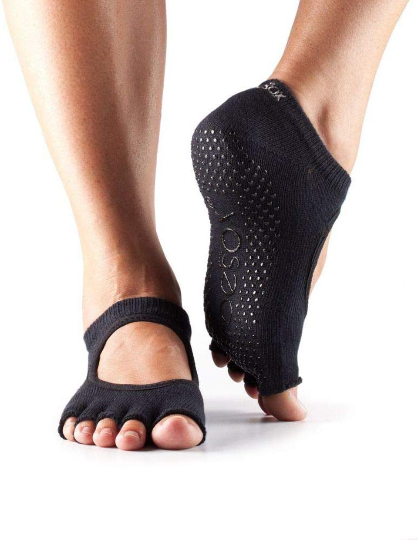 ToeSox Half Toe Grip No-Slip Socks