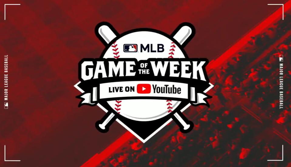 YouTube and MLB have partnered up to air 13 games in 2019.