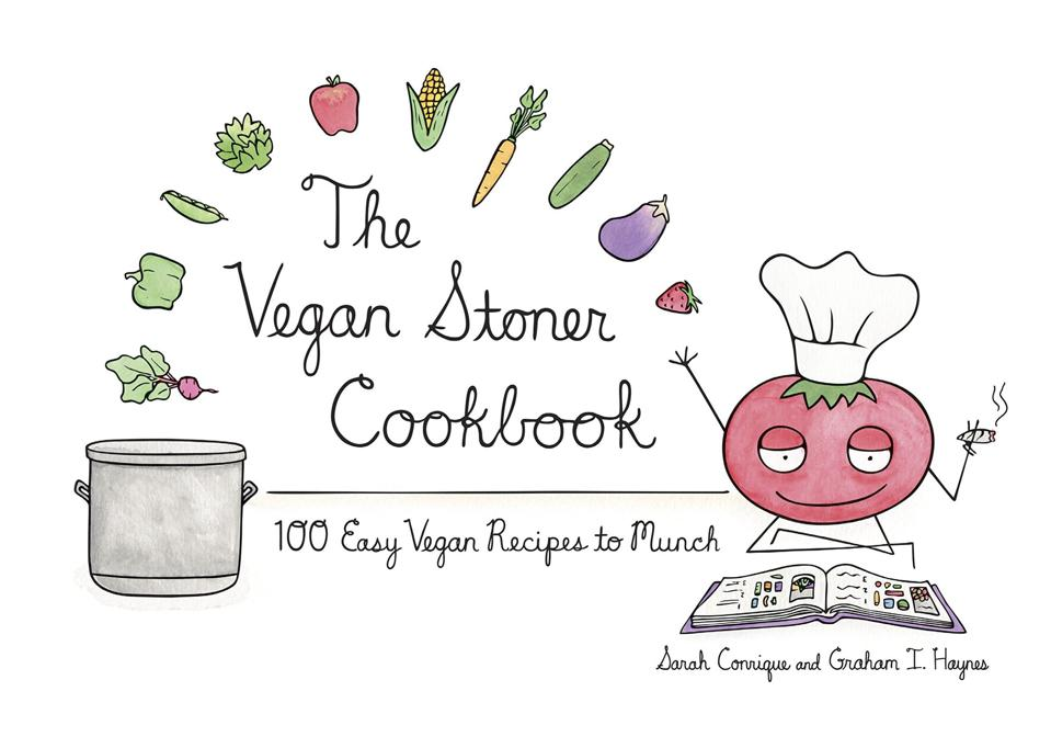 The Vegan Stoner Cookbook, cooking with cannabis, cannabis cookbooks