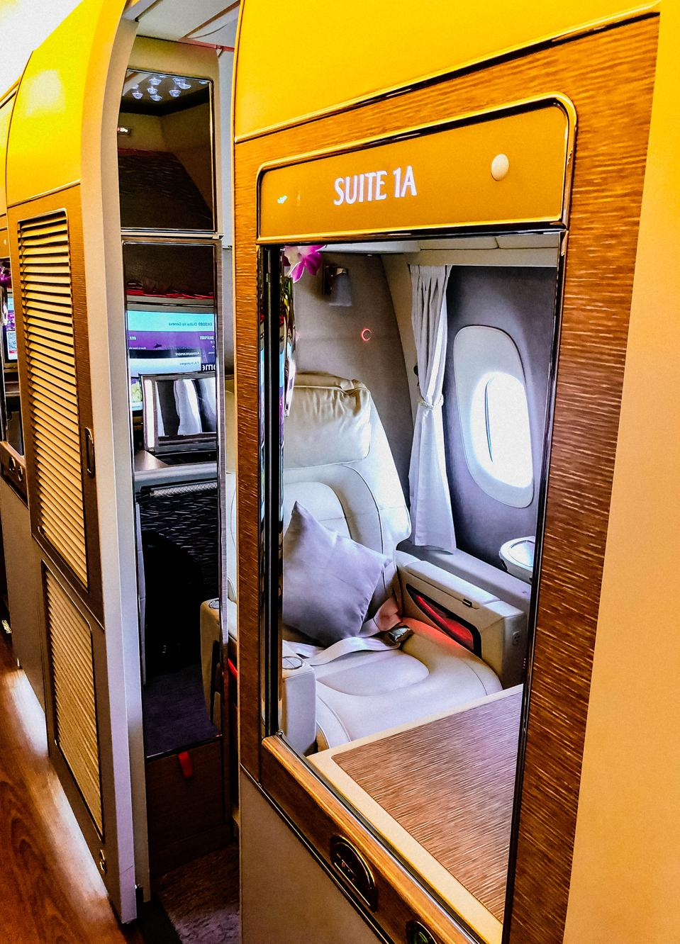With groundbreaking technology, the suite is one of the best in the sky