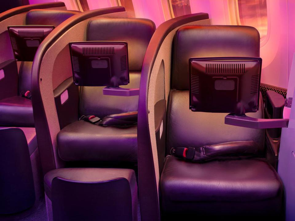 Limited storage current Virgin Atlantic Upper Class