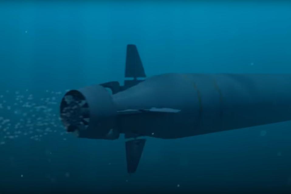 Poseidon Intercontinental Nuclear-Powered Nuclear-Armed Autonomous Torpedo