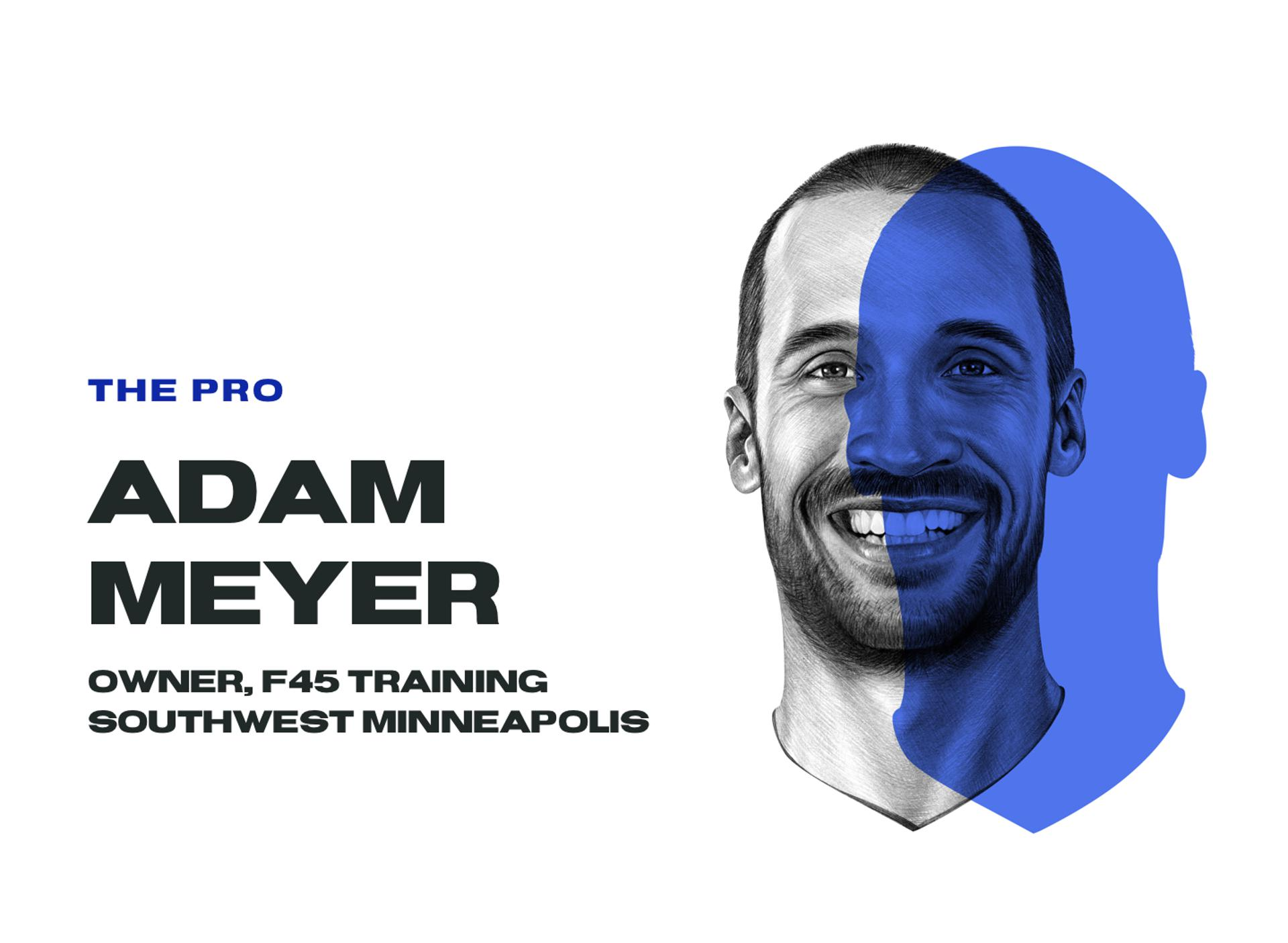 The Pro, Adam Meyer, owner, F45 training Southwest Minneapolis