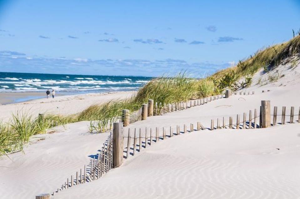 An inviting Cape Cod beach