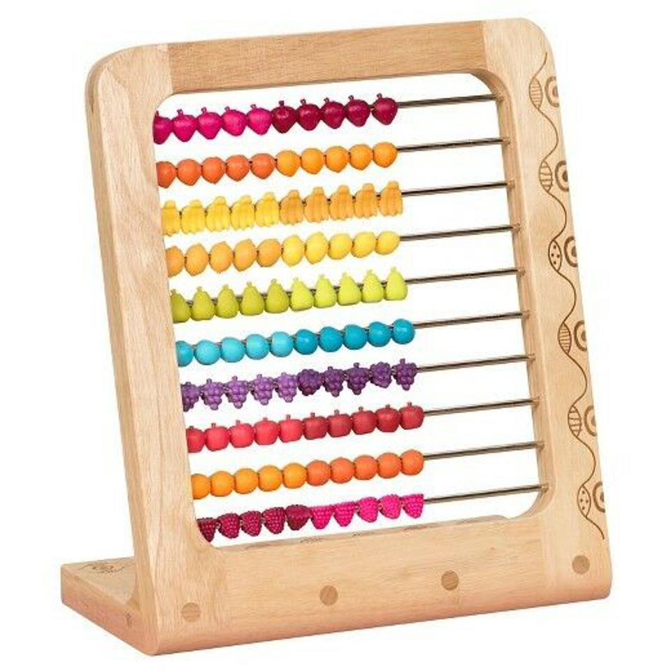 B. Toys Two-ty Fruity Abacus
