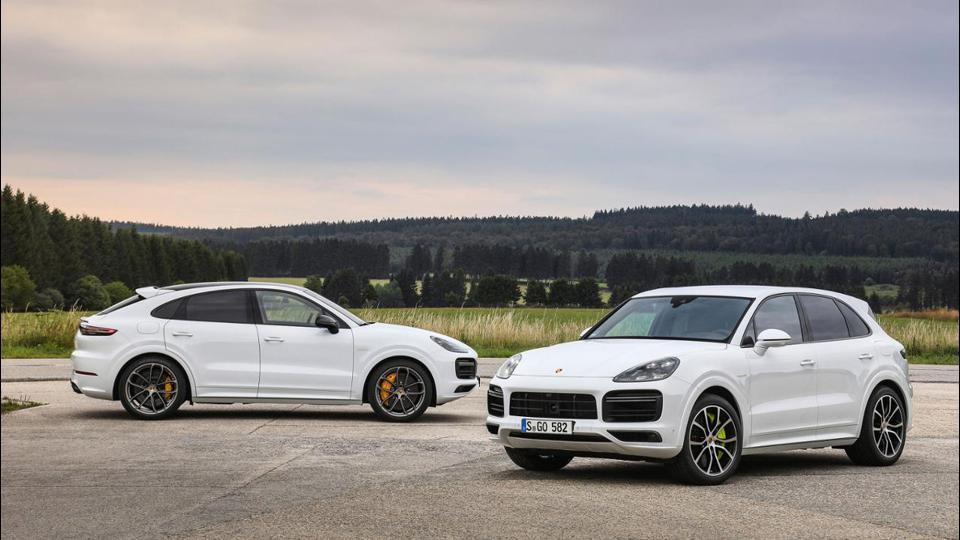 2020 Porsche Cayenne Turbo S E-Hybrid and E-Hybrid Coupe
