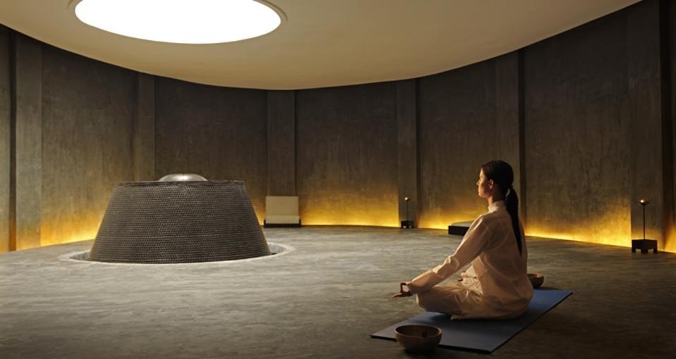 Meditation Cave at Dharana