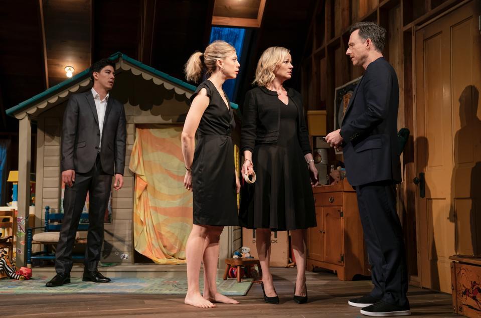 Kim Fischer, Susannah Flood, Samantha Mathis, and Brad Heberlee in Make Believe