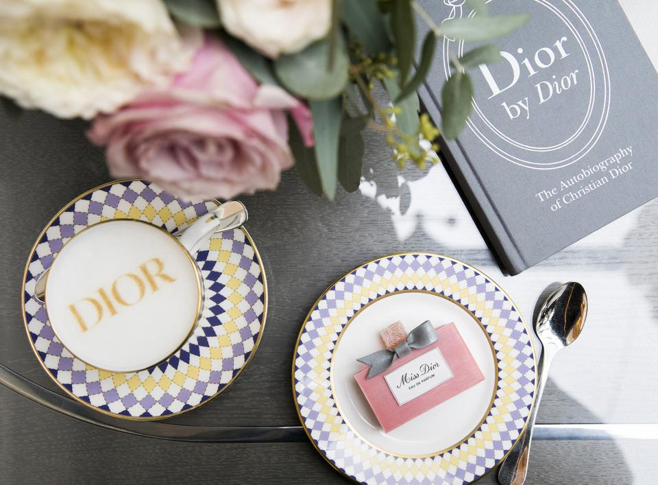 Dior-Themed Afternoon Tea In London Extends By Popular Demand