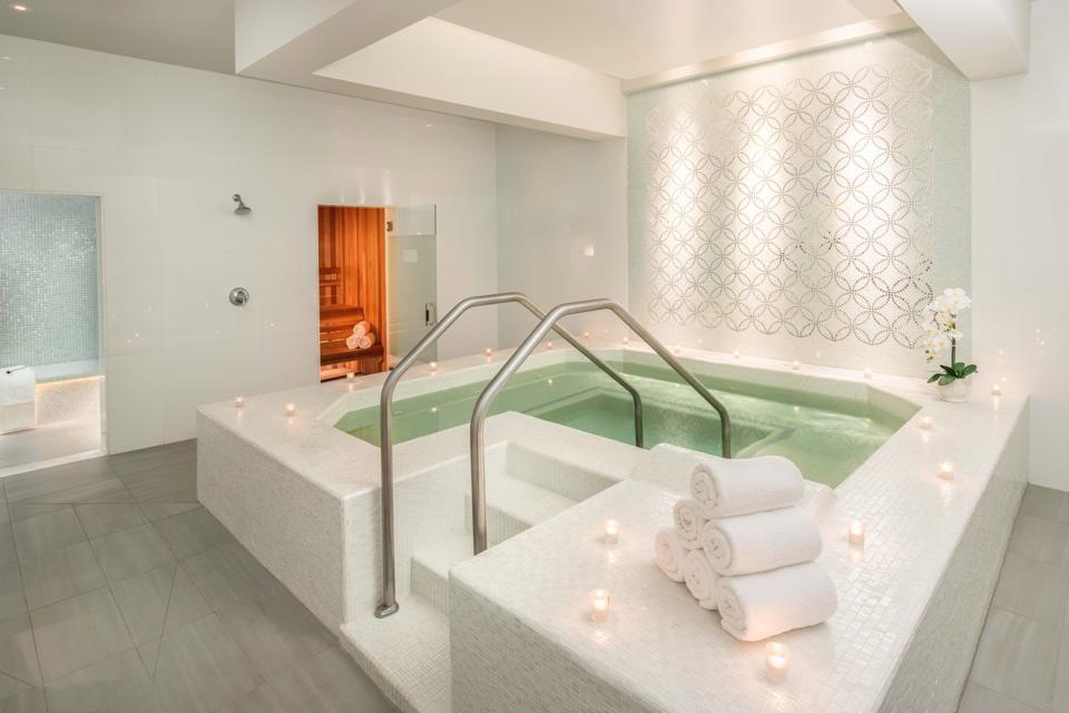 Vitality Pool at Waldorf Astoria Buckhead