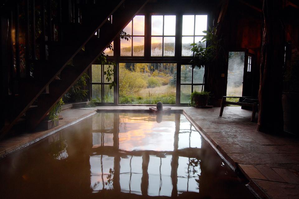 Bathhouse at Dunton Springs