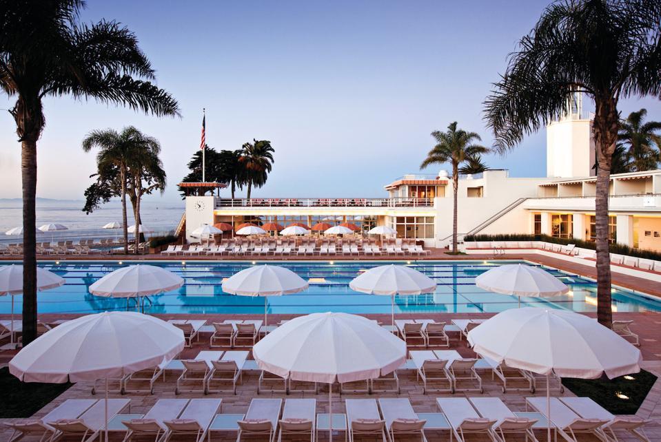 Coral Casino Pool, Four Seasons Resort, The Biltmore, Santa Barbara