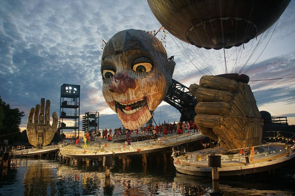 The Stage At Bregenzer Festspiele