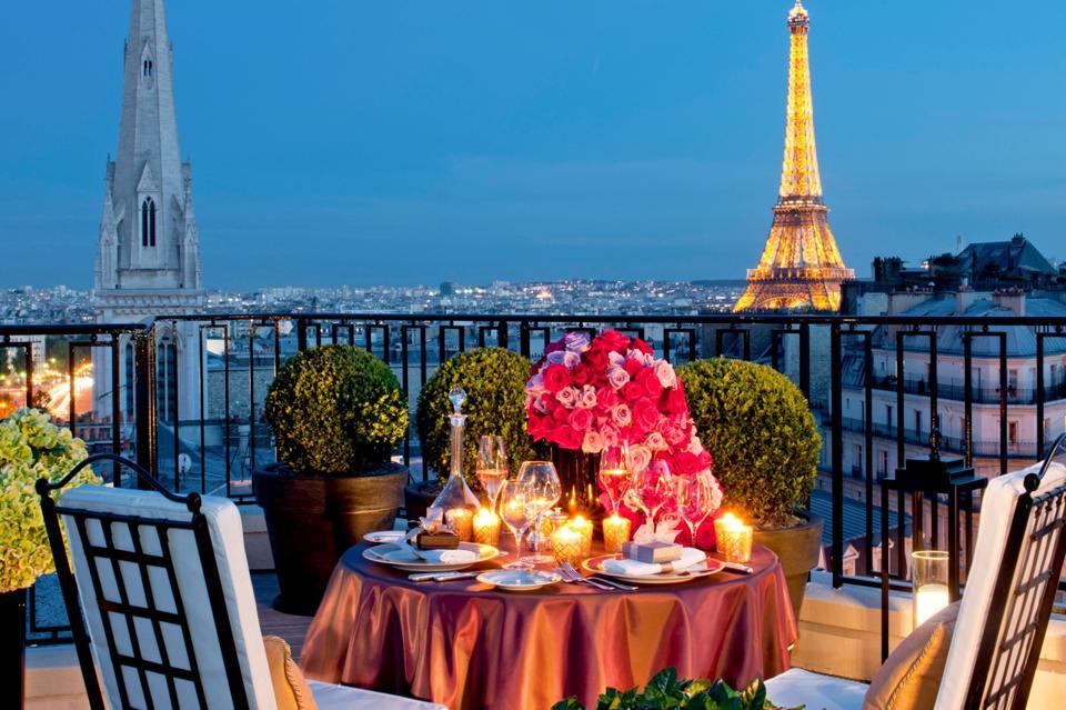 Four Seasons George V, Paris, France.