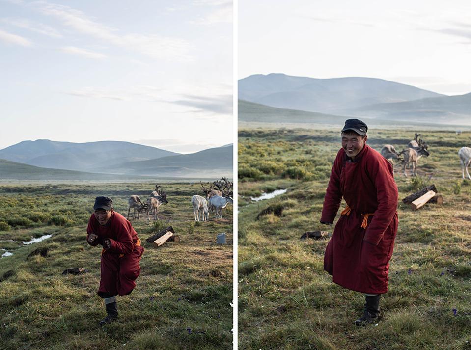 Mongolian Horse Herders