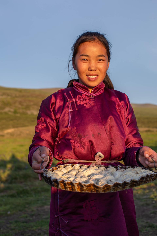 Buuz, Mongolian Steamed Dumplings