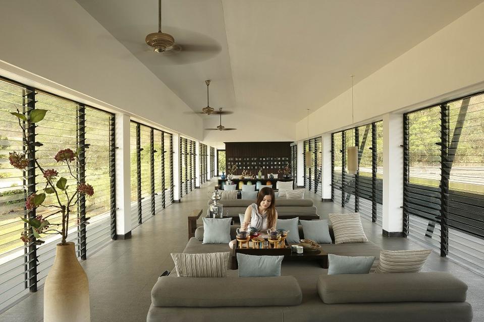 Tea House at Dharana