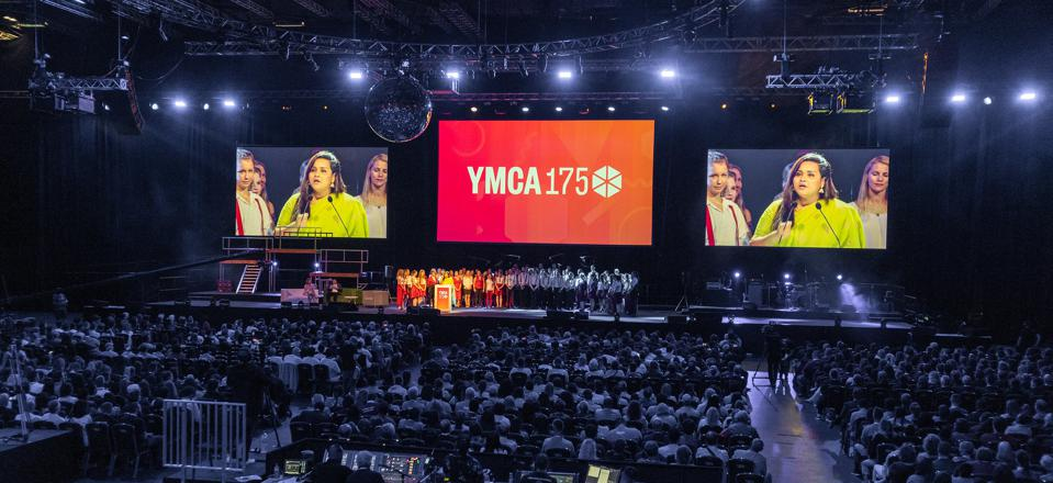 YMCA 175 event stage, Day 1.