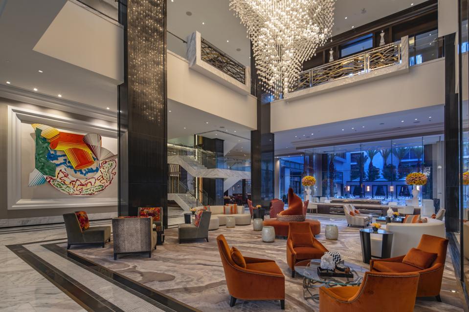 Post Oak Hotel At Uptown Houston Lobby.