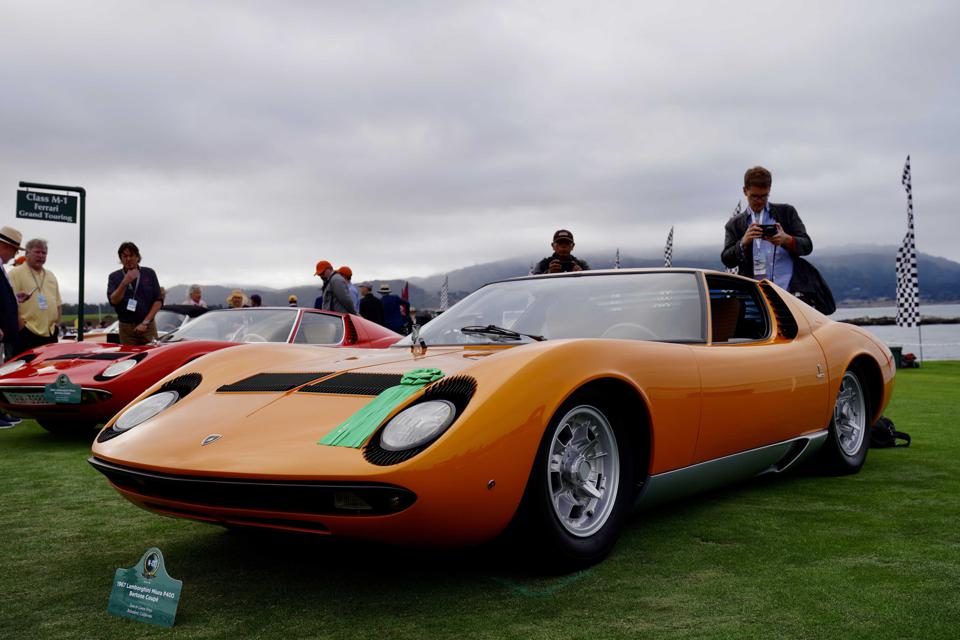 Pebble Beach Car Show >> Best And Boldest From Sunday S 2019 Pebble Beach Concours D