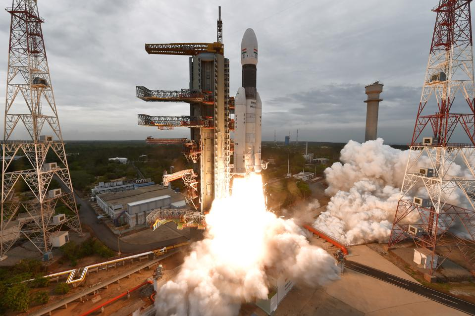 Chandrayaan 2 launched on July 22, 2019 from the Satish Dhawan Space Center in Sriharikota, Andhra Pradesh on a GSLV Mark III rocket.