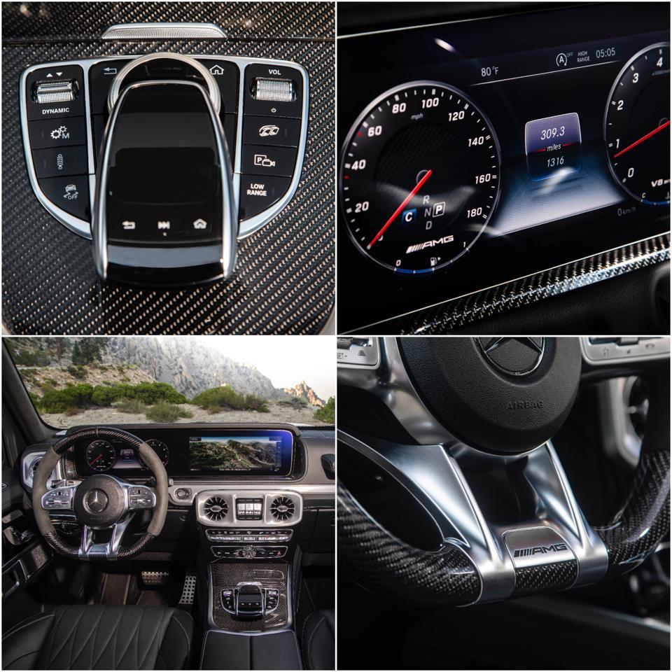 G-Class AMG Interior