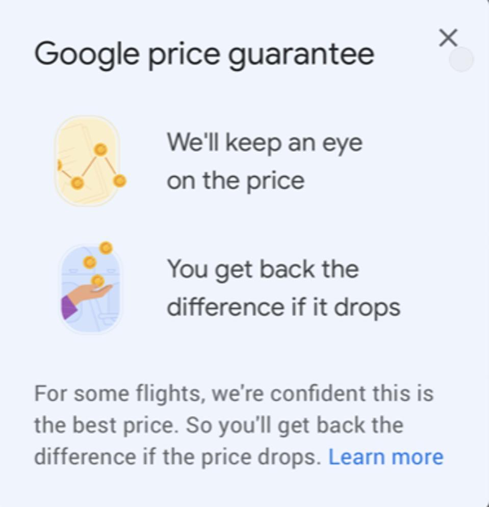 Google price.