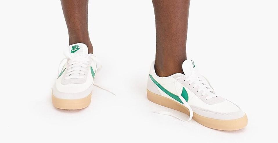 JCrew_Nike_Killshot2_Green_Mens Sneakers 2019