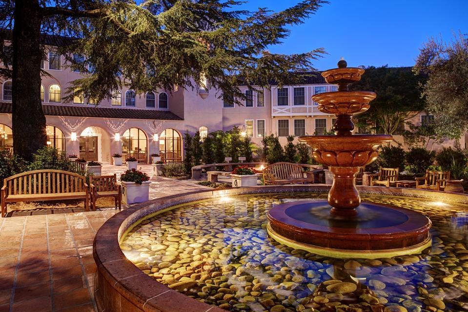 Fountain Courtyard at Fairmont Sonoma