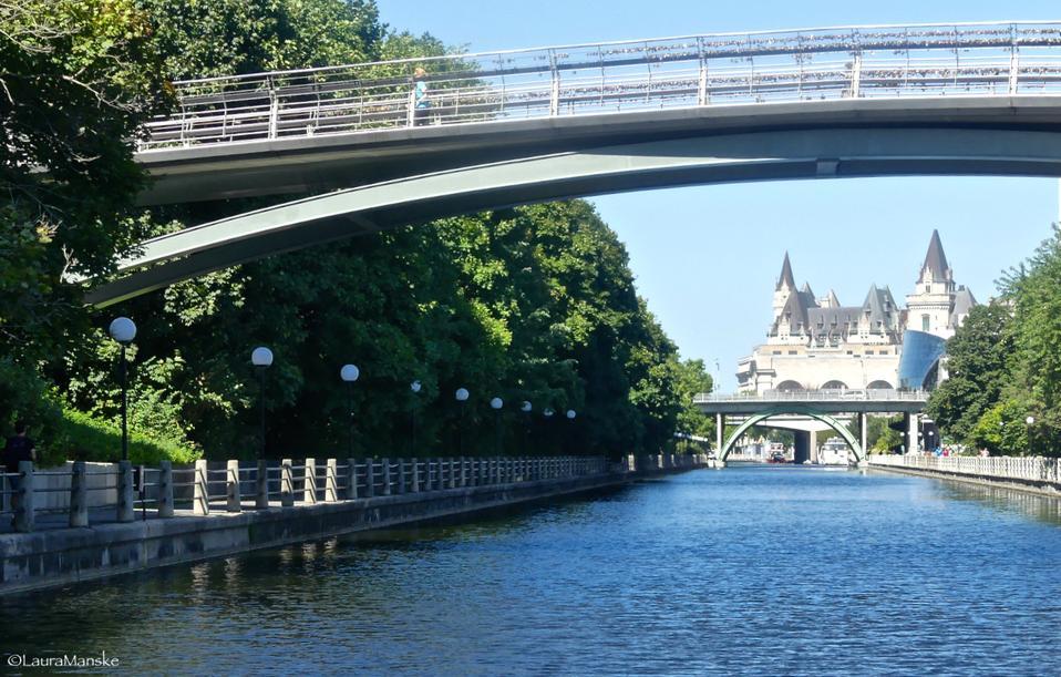 Rideau Canal, Ottawa, Canada.