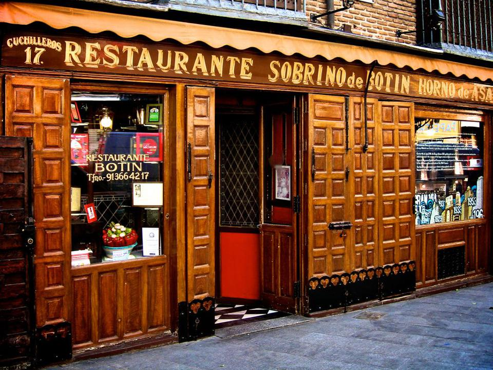 Restaurante Botin, Madrid