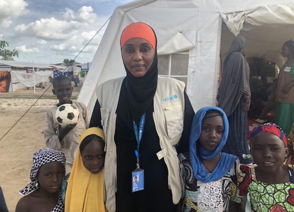 Aisha Kolo Lawan is a UNICEF Child Protection Specialist in Maiduguri, Borno State, Nigeria.