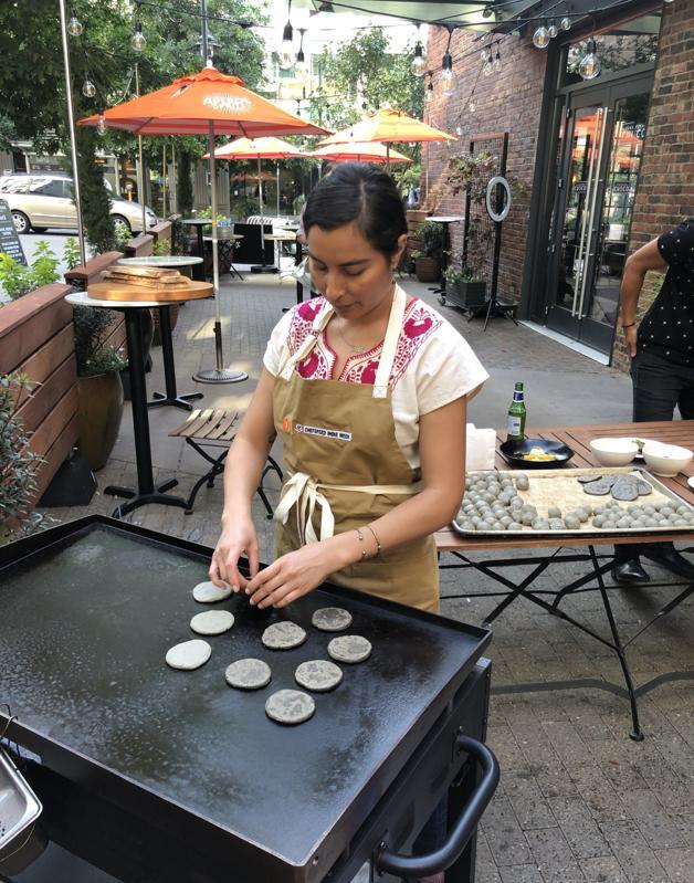 Los Angeles-based chef Jocelyn Ramirez