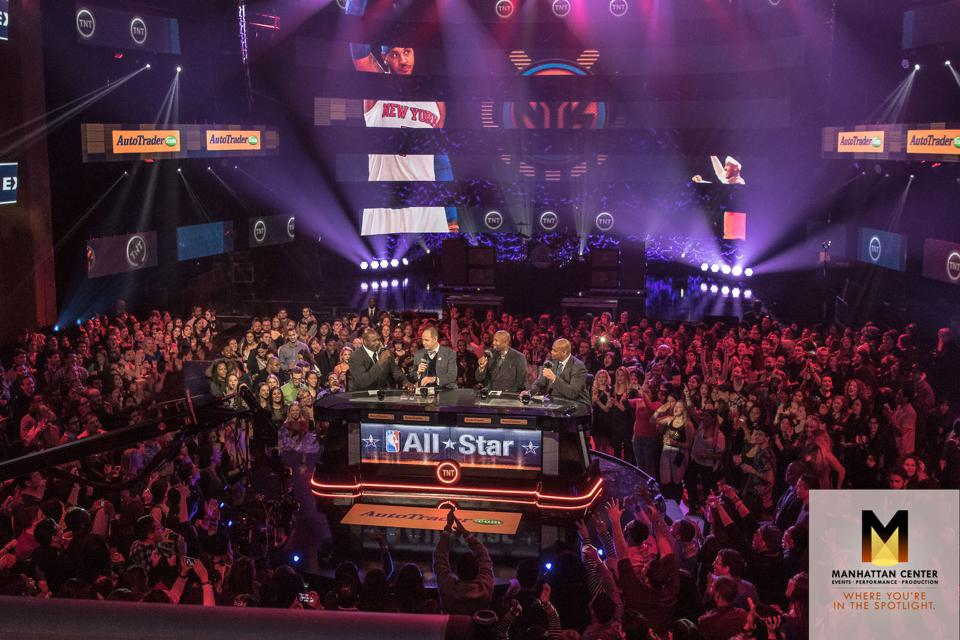 NBA Live Fall Out at Hammerstein Ballroom