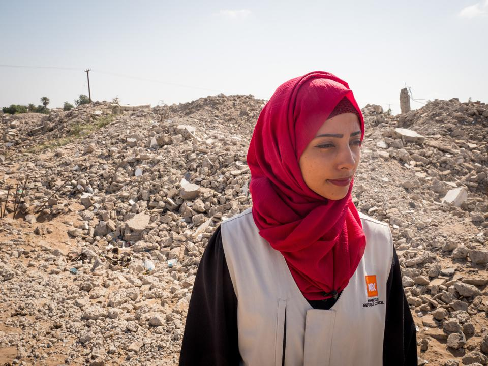 Humanitarian Aid Worker in Yemen