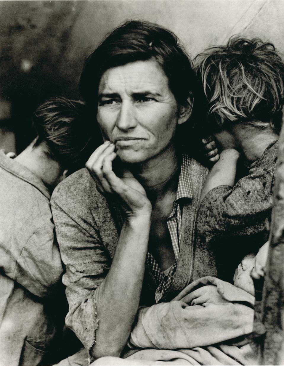 Dorothea Lange, Migrant Mother, Nipomo, California, 1936.