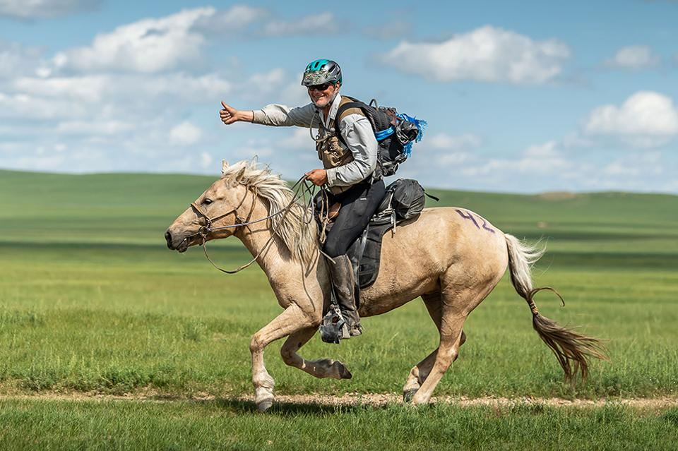 Mongol Derby 2019 Winner Bob Long