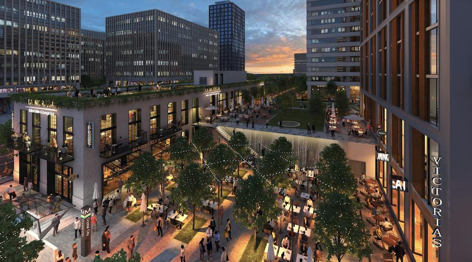 Proposed mixed-use development for Crystal City