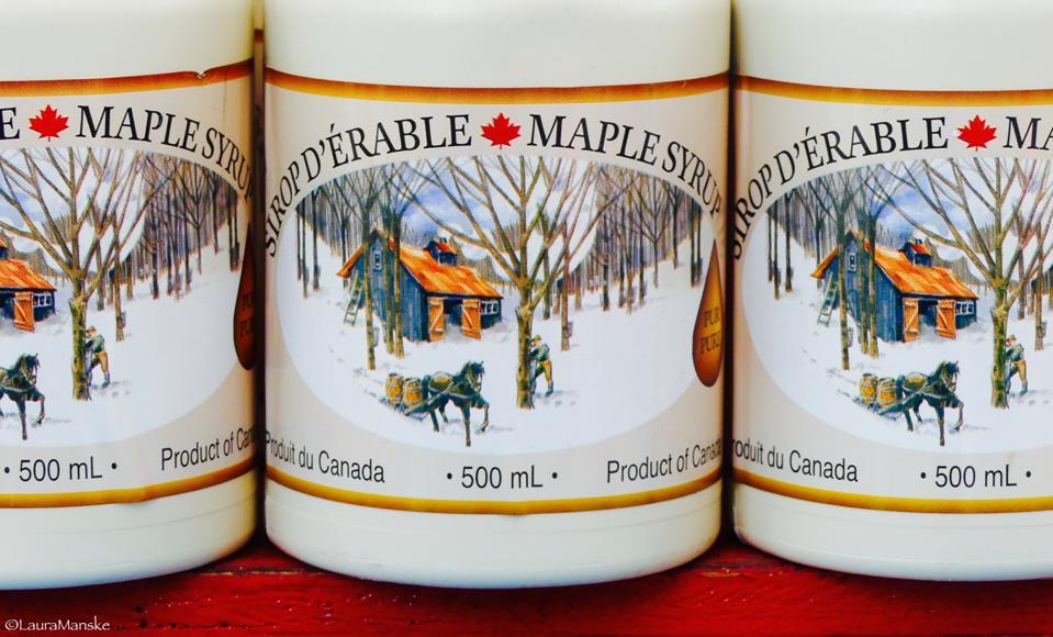 Maple syrup, Ottawa, Canada.