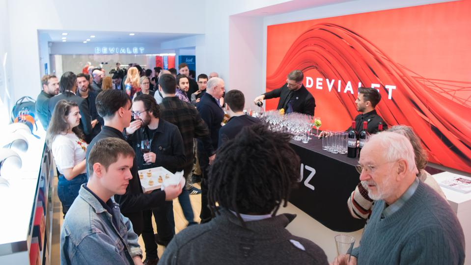 Qobuz launch party at Devialet New York