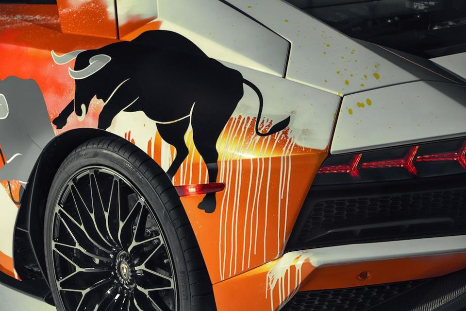 The one-off collectable Lamborghini Aventador S by Skyler Grey