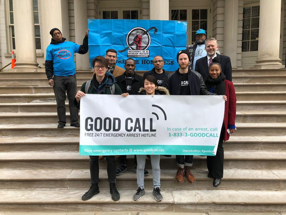 Good Call and Housing is a Human Right Coalition