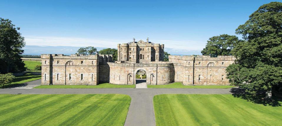 Seton Castle aerial