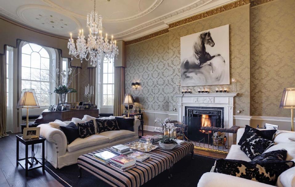 Seton Castle living room
