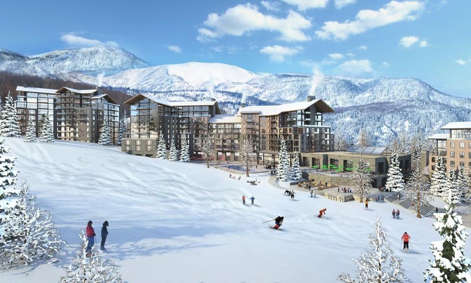 The Mayflower Mountain Resort.