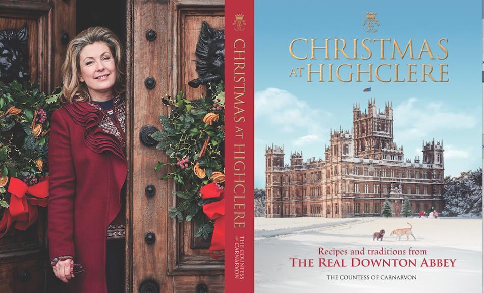Lady Carnarvon's new book.