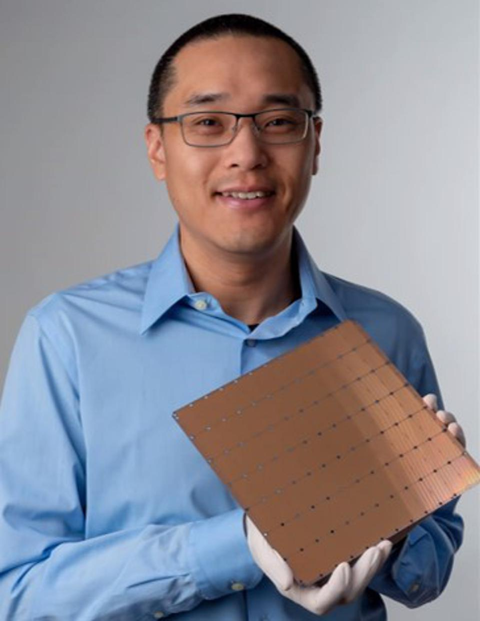 The Cerebras Wafer Scale Engine is the first wafer-scale solution for AI
