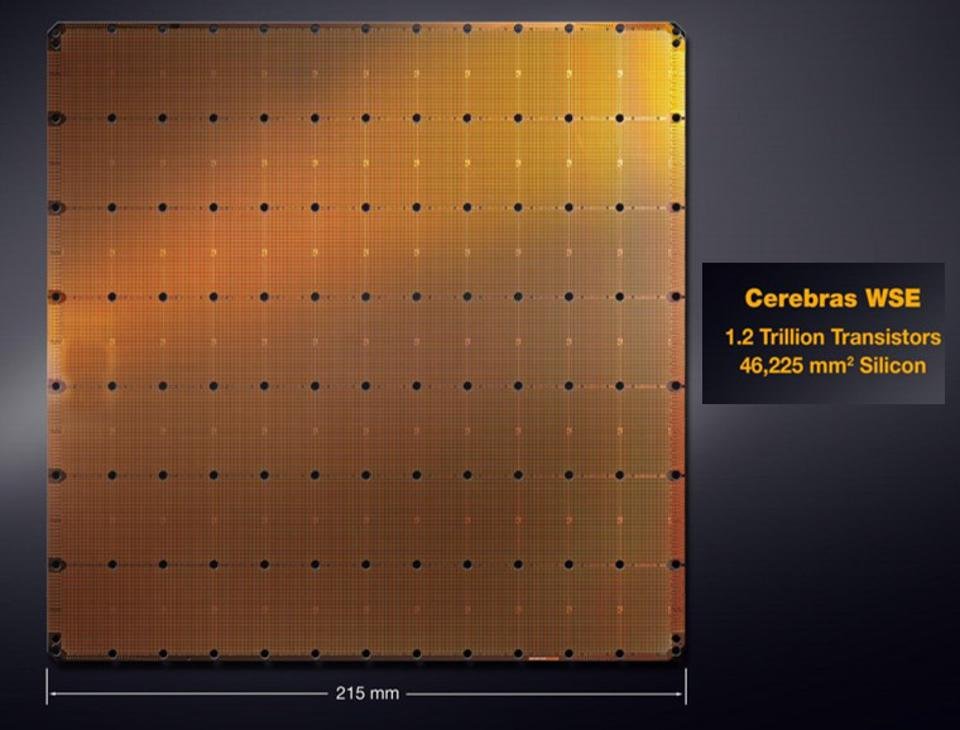 The Cerebras WSE is the largest processor ever produced